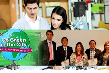 Ateneo Eng'g students beat 3 UP teams in Go Green in the City 2016 Philippine Country Finals