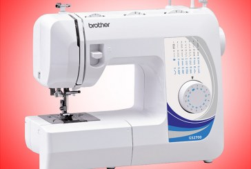 Get a free sewing kit worth P1,300 for every purchase of a Brother home sewing machine