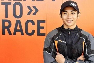 Ralph Kenneth Torres represents PH in KTM RC Cup Asia