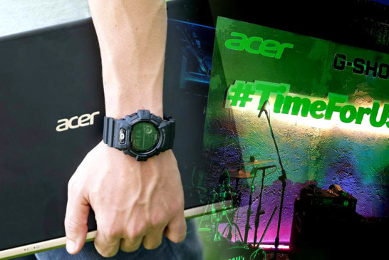 Acer Philippines and G-Shock partners for #TimeForUs movement