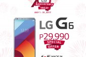 LG celebrates 70th global anniversary with Php 8,000 off on renowned G6