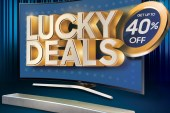 Get lucky with the Samsung Curved UHD TV and Soundbar deals