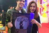 Elmo Magalona scores Gold Record for debut album