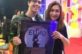 Elmo Magalona scores Gold Record for debut album