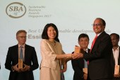 Essilor receives Sustainable Business Award for  UN Sustainable Development Goals