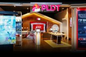First PLDT sales and service concept store in Greenhills, San Juan