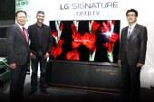 LG unveils 77-inch LG Signature OLED TV