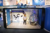 Experience Vivo's Special Christmas Campaign Booths