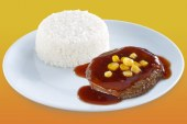 Jollibee Pinoy BBQ Burger Steak Now Available