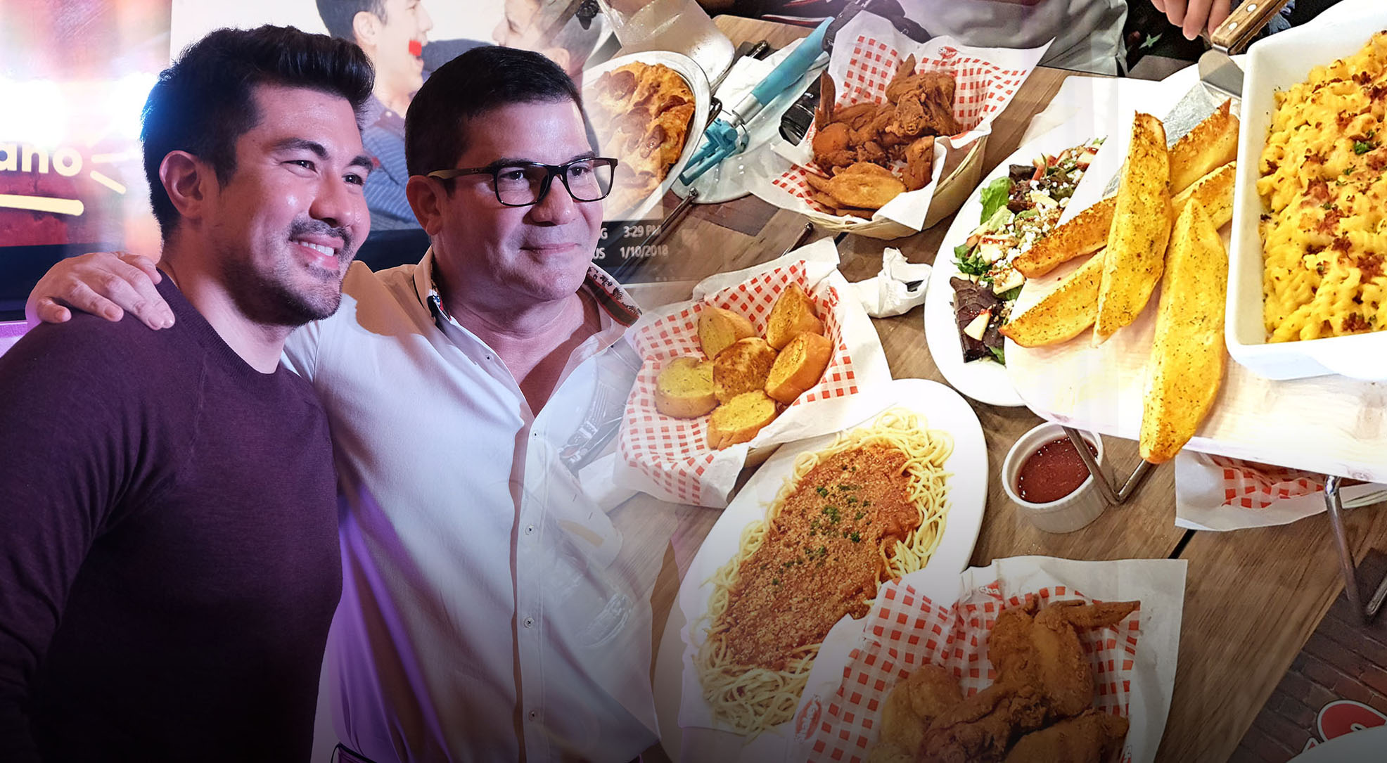 It's a #Lucky2018 as Edu and Luis Introduces Shakey's Hottest 2018 Meal Deal