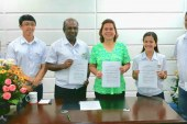 Holcim cited as Bulacan top tax payer, supports Davao beautification program