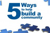 Five ways to help build a community