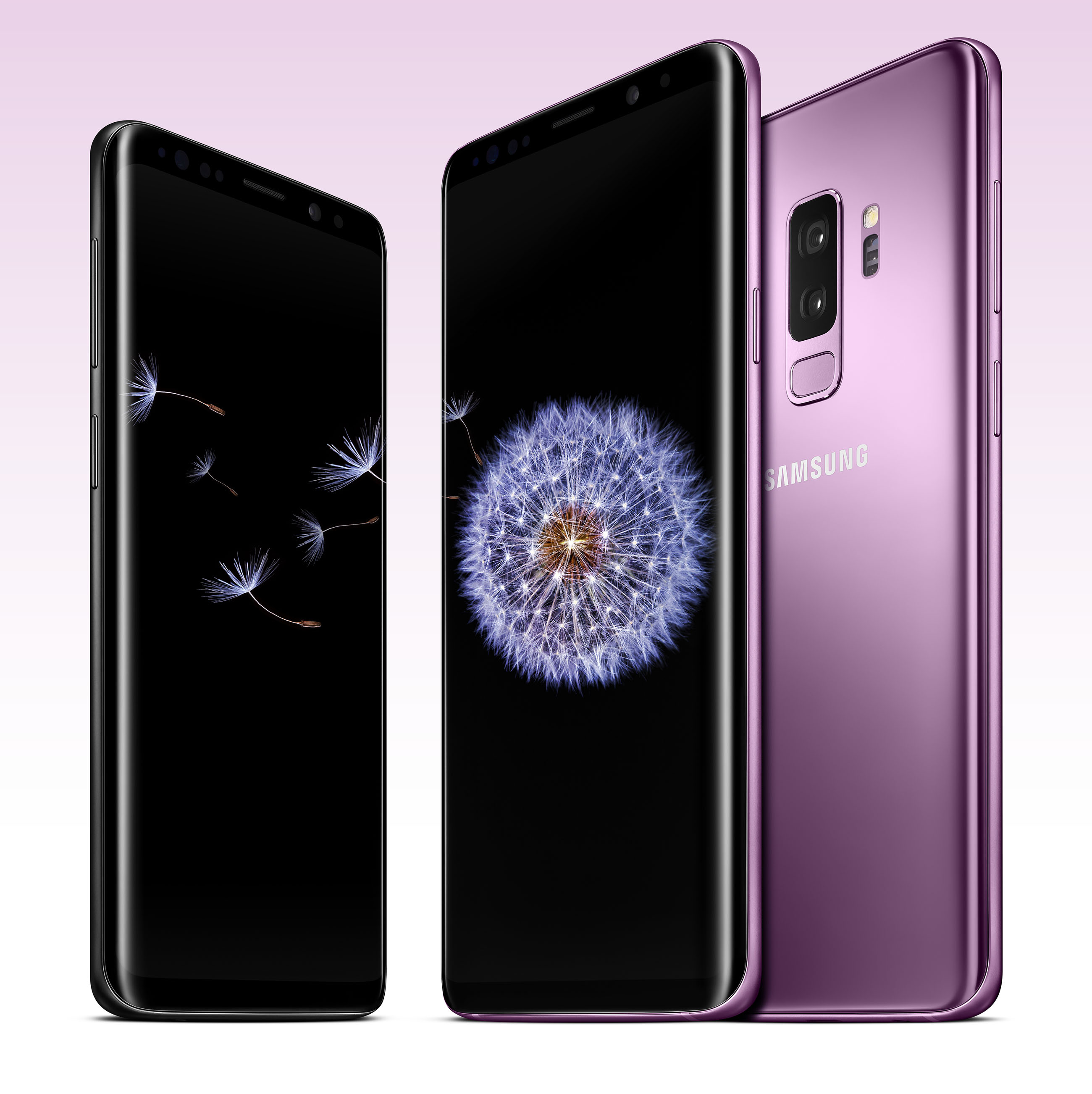 Pre-order the new SAMSUNG Galaxy S9 and S9+ NOW!