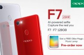 Pre-order the OPPO F7 get a free Olike LED Bluetooth Speaker