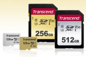 Transcend Releases New High-speed, Capacious SD and microSD Cards