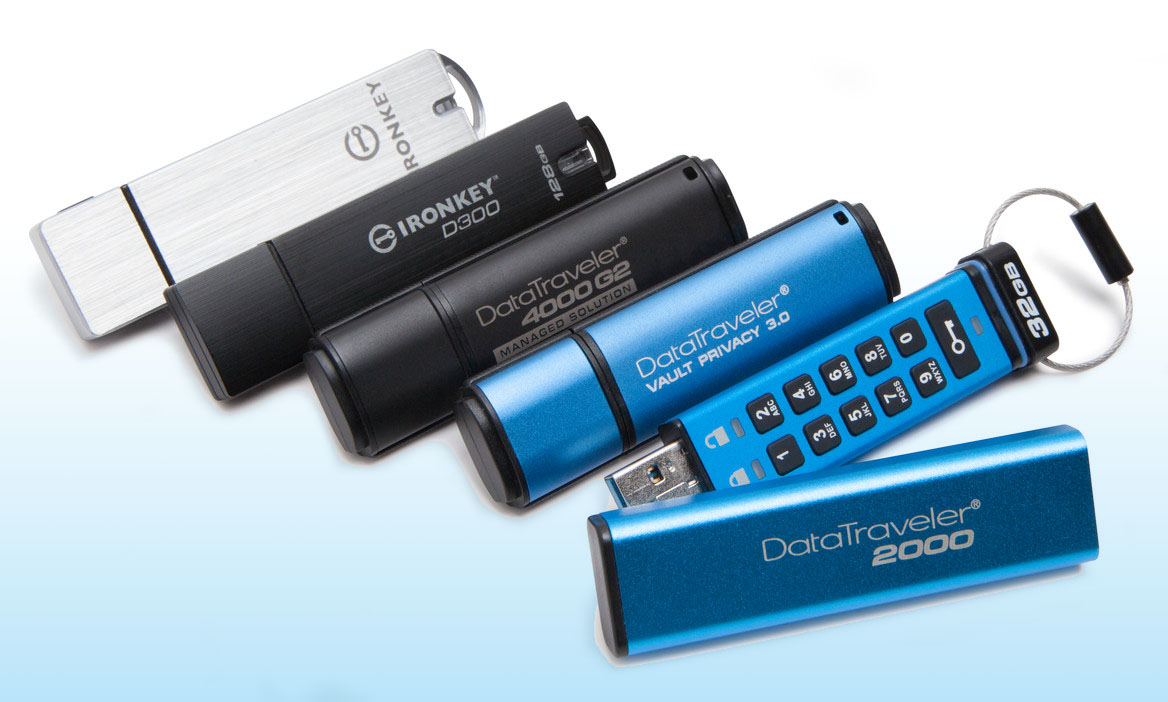 Kingston Encrypted USB Drives are Key Component of Impending GDPR Compliance