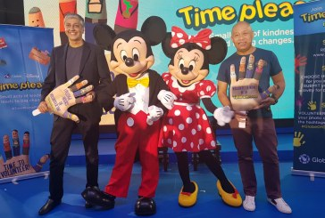 "Globe, Disney partners for ""Time Please"" nationwide volunteering program"