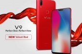 Vivo V9 in Velvet Red now available!