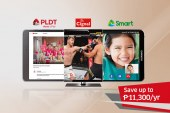 PLDT's Best Buy Bundle brings you premium internet, mobile, and pay TV services your family needs at home