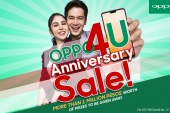 More than PHP 1 million worth of prizes, discounts and freebies await at OPPO4U Anniversary Sale