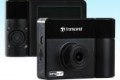 Transcend's DrivePro 550 Dashcam features dual lens camera