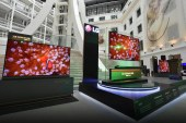 LG Unveils OLED Wallpaper TV (W8) at the National Museum of Natural History