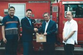 Discovery Primea donates fire truck to Makati City
