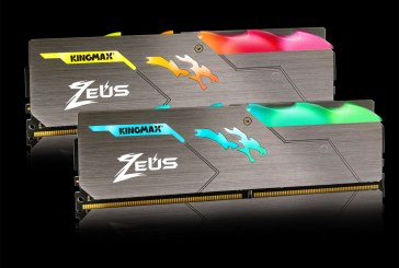 KINGMAX Zeus Dragon DDR4 RGB Memory: Godlike Performance and Beautiful RGB Lighting Effects