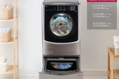 Save time, energy and up to 50 percent when you buy an LG TWINWash washing machine