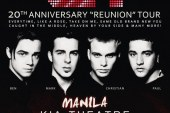 "A1 20TH Anniversary ""Reunion"" Tour – A Second Show is Added in Manila!"