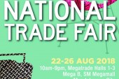 2018 Sikat Pinoy National Trade Fair runs on August 22 to 26