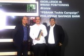 "PSBank clinches Bronze in PANAta Awards for its ""Techie"" campaign"