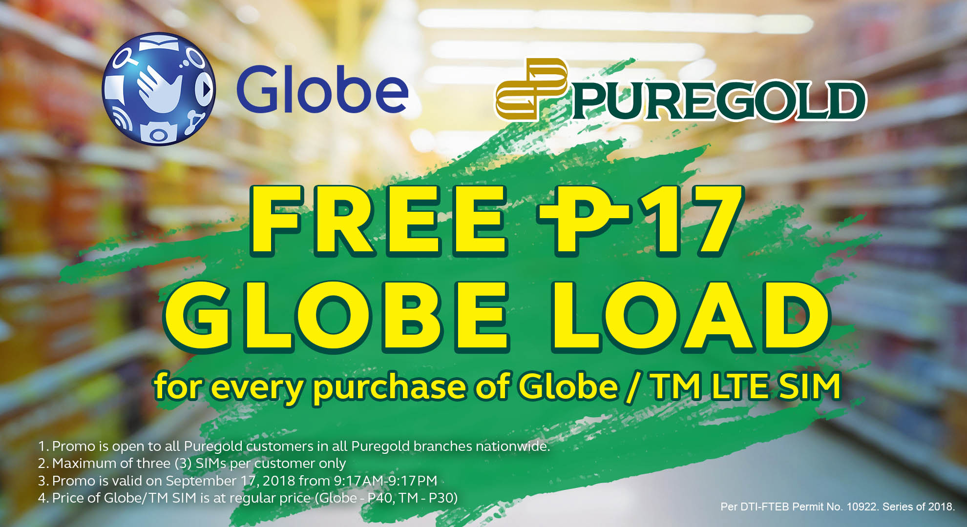 Super panalo deals and more as Globe and Puregold celebrate 917 Day