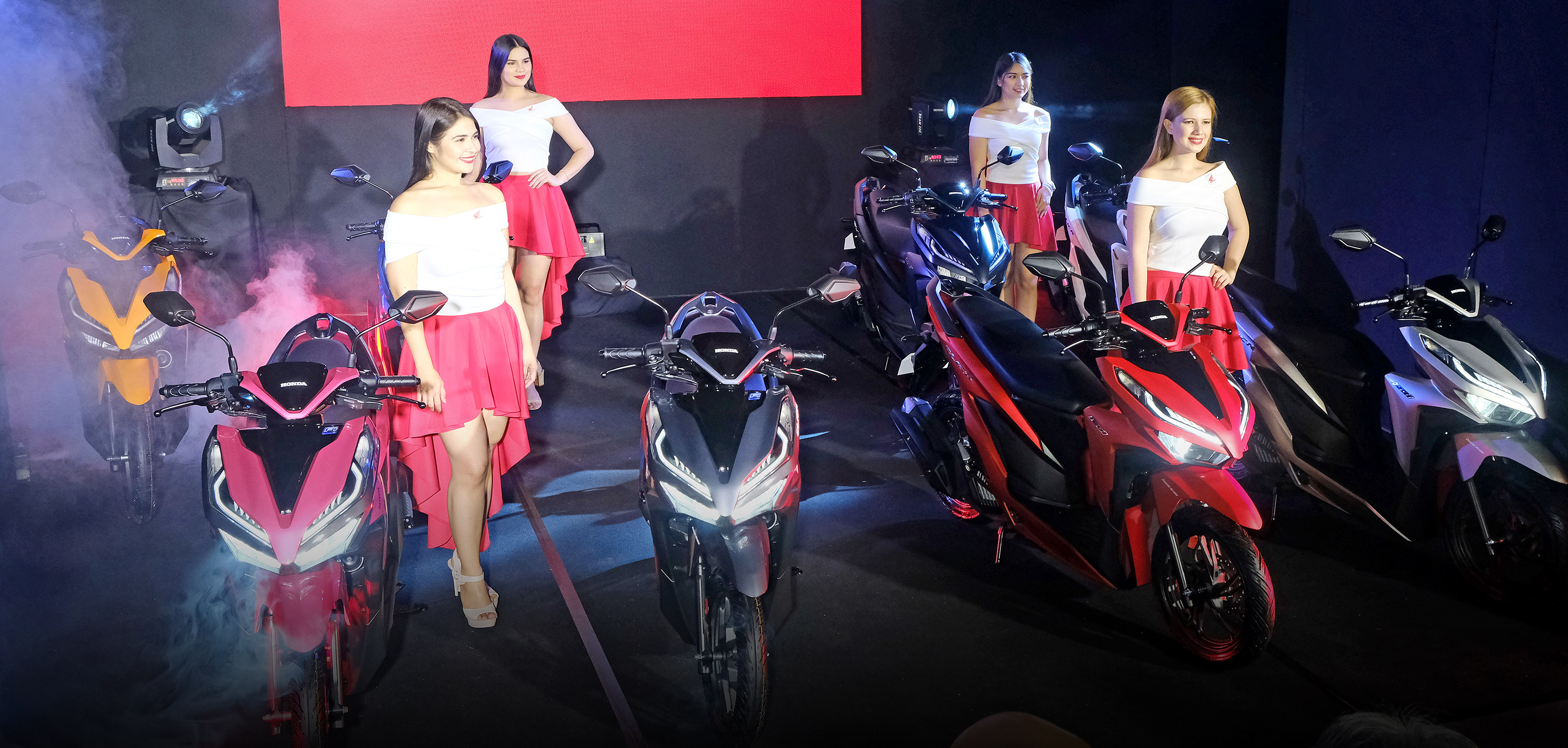 Honda officially unveiled its game changing AT models: CLICK 125i and CLICK 150i