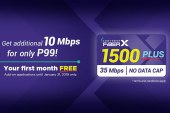 Converge ICT Further Upgrades the Filipino Web Experience by introducing FiberX 1500Plus
