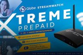 Globe introduces Streamwatch Xtreme the world's first all-in-one home entertainment device for only P2999