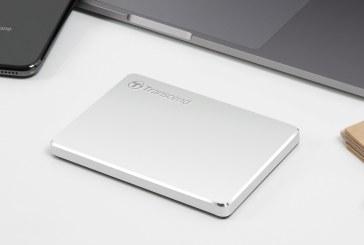 Transcend Introduces Ultra Slim Portable Storage StoreJet 25C3S in a Stylish Aluminum design