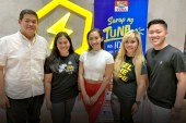 Mega Tuna introduces #SarapNgTUNAy Workout campaign together with Melissa Gohing