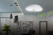 Stream music through your LED ceiling lamp with Nxled