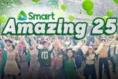 P25 Million Cash Tax Free plus other exciting prizes at Smart's Biggest Anniversary Promo