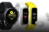 Samsung Introduces Three New Wearables:  Galaxy Watch Active, Galaxy Fit and Galaxy Buds