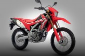 Honda CRF250L now equipped with sportier design and upgraded features