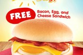 Free delicious Sandwiches as Jollibee celebrates Jolly Breakfast Day on March 11