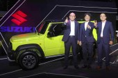 Suzuki PH unveiled its best-selling MPV the all-new Jimny All-Grip Pro