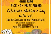 Genki Sushi offers special treat for Mother's Day