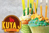 Spend your birthday and treat your family or friends with Kuya J