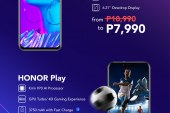 HONOR smartphones lets you save as much as Php 4,000 starting June 28