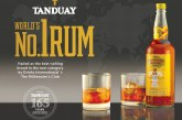 Tanduay hailed as the World's Number One Rum for Second Straight Year