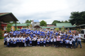 Brother Philippines provides assistance to Batangas students in Brigada Eskwela activity