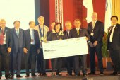 Rotary Club of Makati West's 'Gift of Life' program receives Silver award for outstanding humanitarian support
